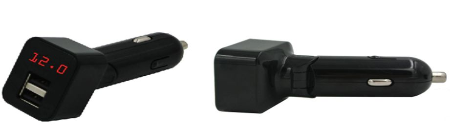 HDC14B-BB-4.8A  In-Car Charger